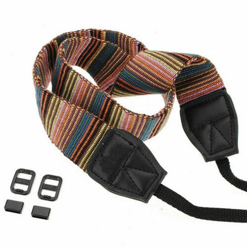 Vintage Camera Sling Belt DSLR/SLR
