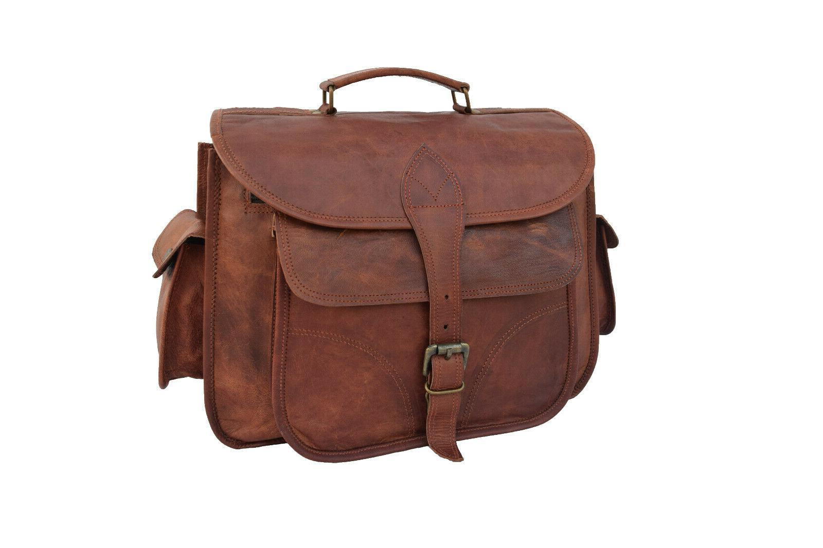 vintage leather dslr camera bag messenger slr