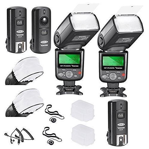 Neewer VK750 i-TTL Auto-Focus Flash Nikon Kit with