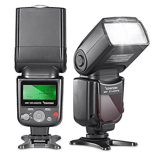 Neewer i-TTL Auto-Focus Flash Nikon DSLR Kit