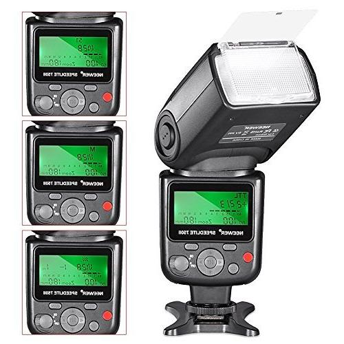 Neewer VK750 II i-TTL Auto-Focus Flash Nikon Kit with
