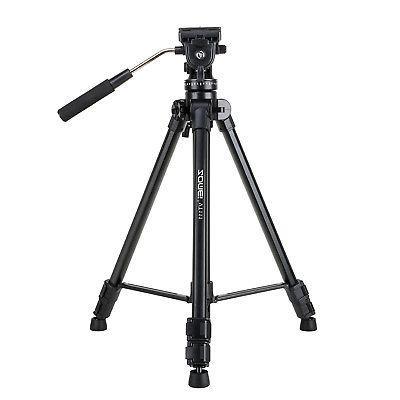 Head Tripod DSLR Camera Camcorder