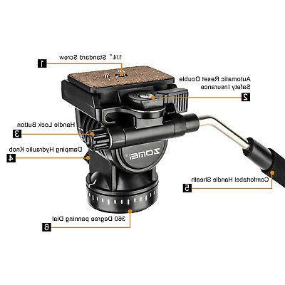 ZOMEI VT111 Professional Fluid DSLR