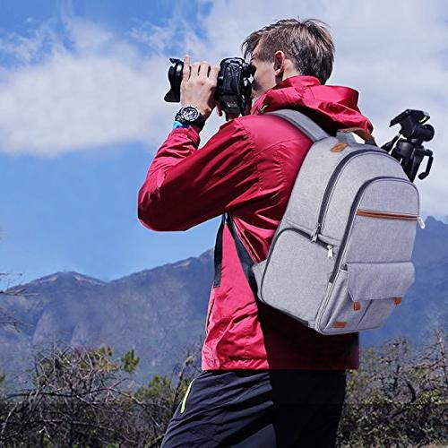 Endurax Waterproof Camera for and Build-in Shoulder Photographer Bag