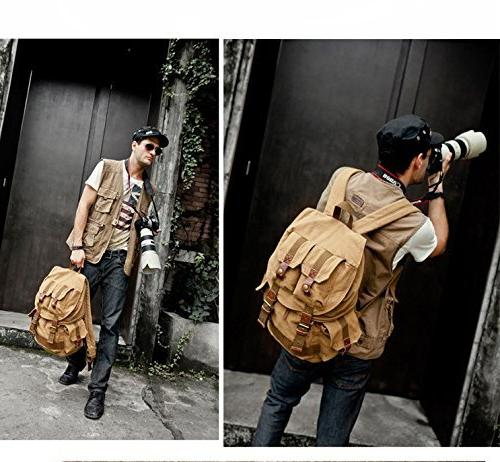 i-graphy Waterproof Backpack with Cover DSLR Camera -