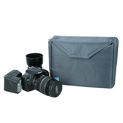 Waterproof Big Partition Camera Bag DSLR TLR Insert Protection Case