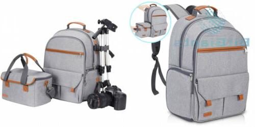 waterproof camera backpack for women and men