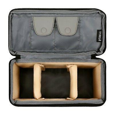 Kattee Waterproof Bag, DSLR Padded Case for Travel
