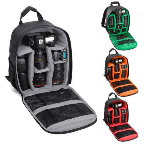 waterproof digital dslr camera backpack case shoulder