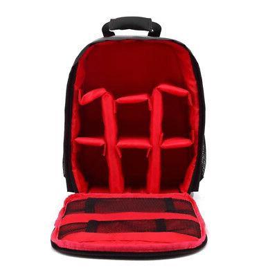 waterproof digital dslr camera video backpack shoulder