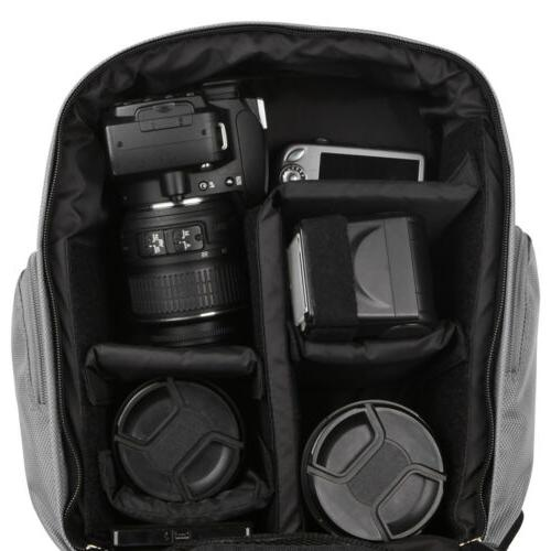 VanGoddy Waterproof DSLR Backpack For Canon 90D/ a9 II