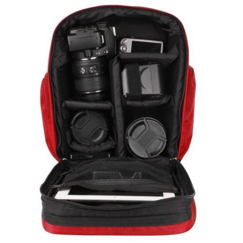 VanGoddy DSLR Camera Backpack EOS Mark II
