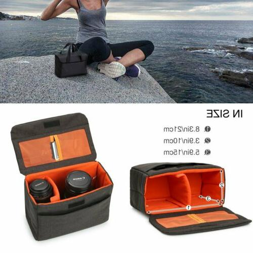Waterproof DSLR Padded Case Partition Insert
