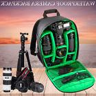 New Waterproof DSLR Camera Lens Backpack Case Bag For Nikon