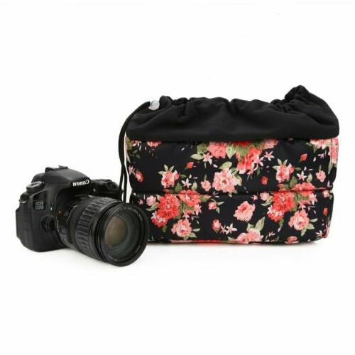 Koolertron Shockproof DSLR Camera Bag Insert Lens Padded Cas
