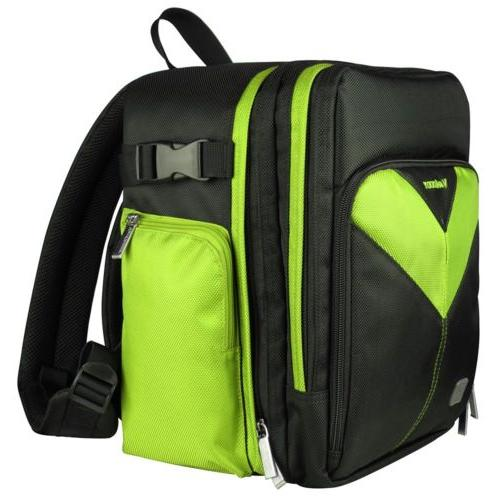 VanGoddy Camera Backpack Bag For Canon Sony Green
