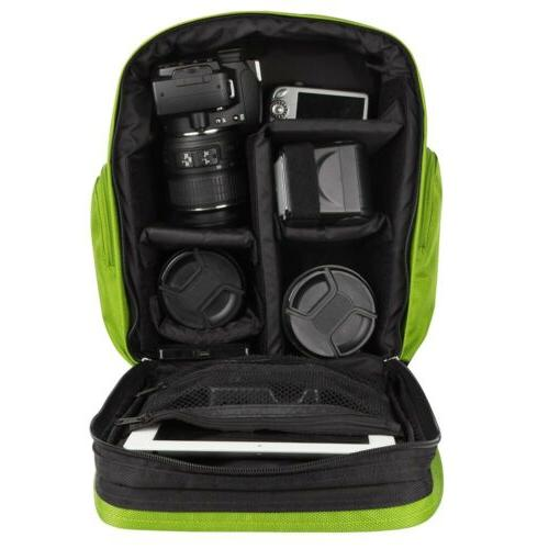 VanGoddy Waterproof Camera For Canon Nikon Sony Green