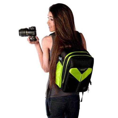waterproof dslr slr camera backpack bag case