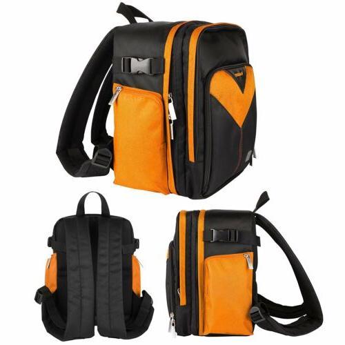 waterproof dslr slr camera backpack carry case