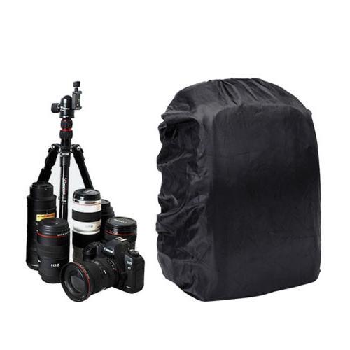 Waterproof DSLR SLR Camera Backpack +Laptop Case For
