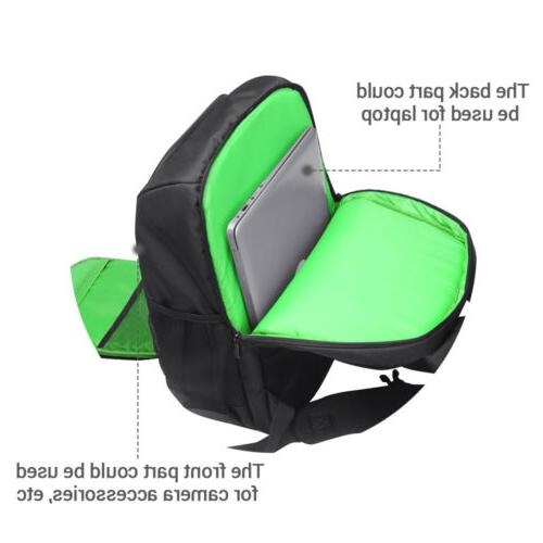 Waterproof Backpack +Laptop Shoulder Case Canon