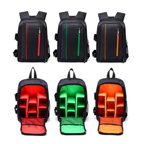 extra large dslr waterproof camera backpack shoulder
