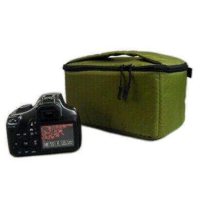Waterproof Insert Camera Lens Bag Handbag US