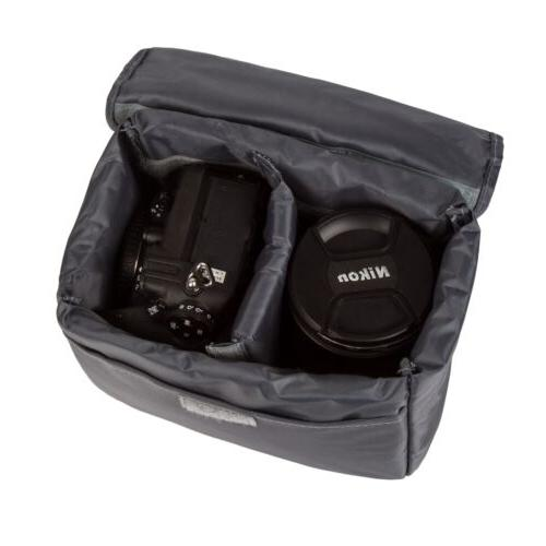 Waterproof DSLR Insert Padded Partition Lens Bag Protector