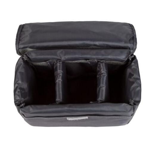 Waterproof DSLR SLR Insert Padded Partition Bag Pouch