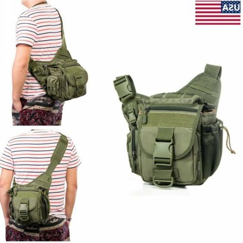 Waterproof Outdoor Hiking Military SLR Camera Backpack Cross