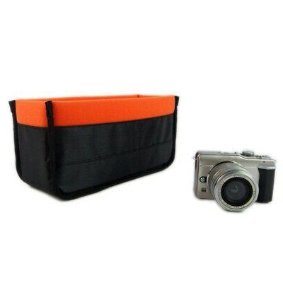 Waterproof Partition Bag Insert Lens Shockproof