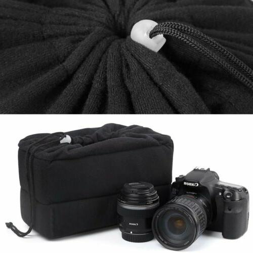 Waterproof Partition Padded Bag DSLR Insert Lens