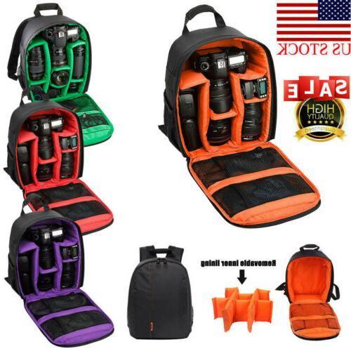 Waterproof Backpack for Sony Nikon