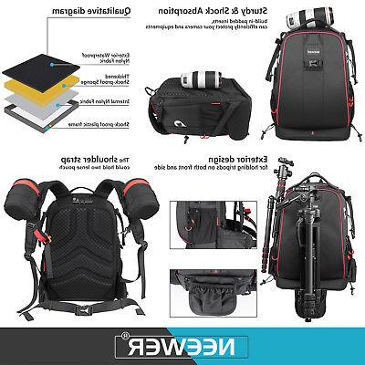 Neewer Shockproof Camera Backpack SLR