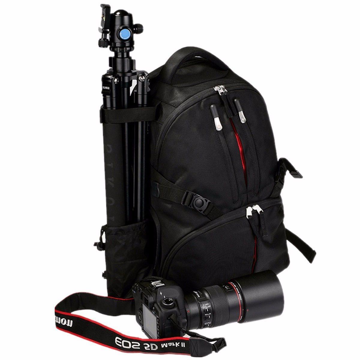 Waterproof Shockproof DSLR Camera Backpack Rucksack For Canon