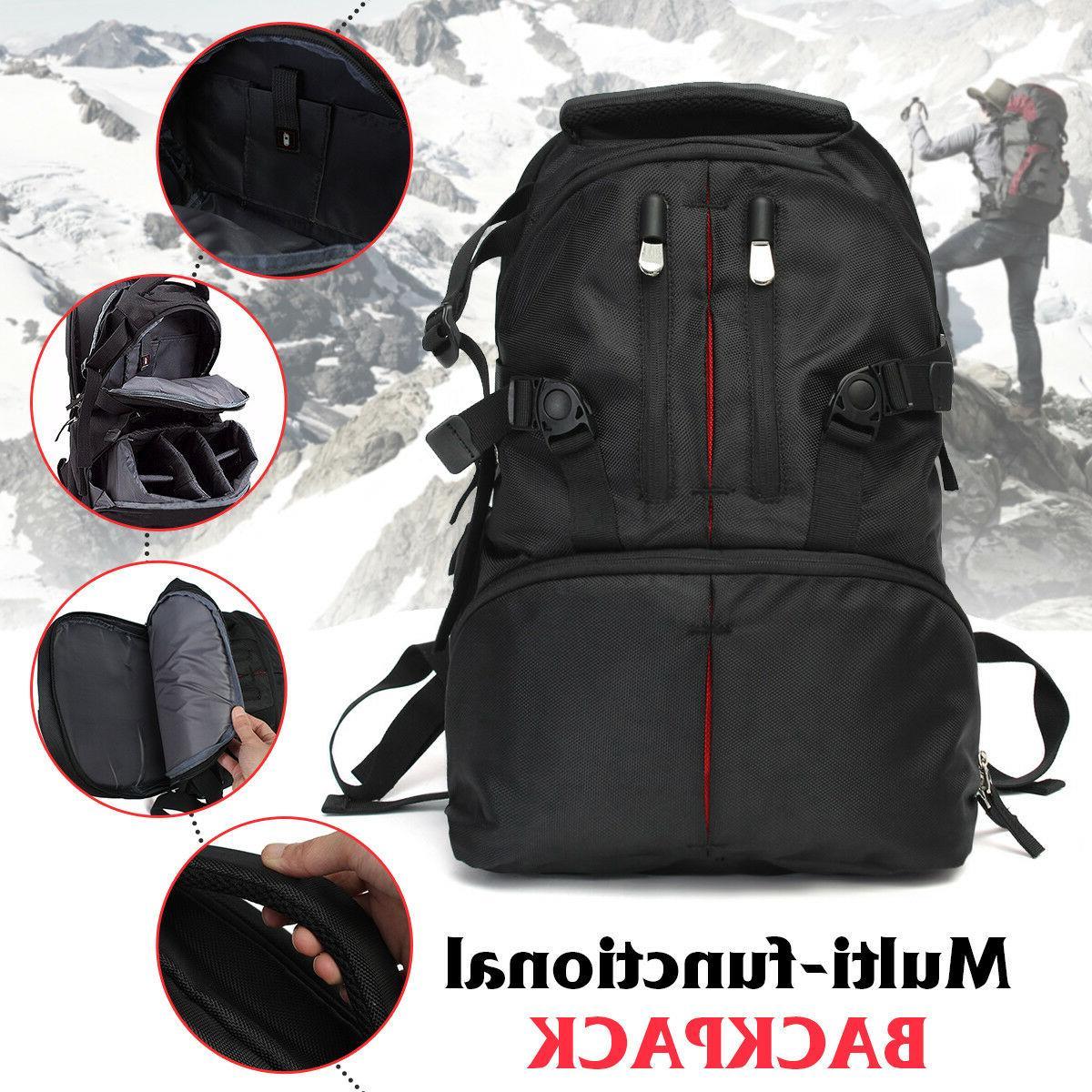 Waterproof Shockproof SLR Camera Laptop Bag Rucksack For
