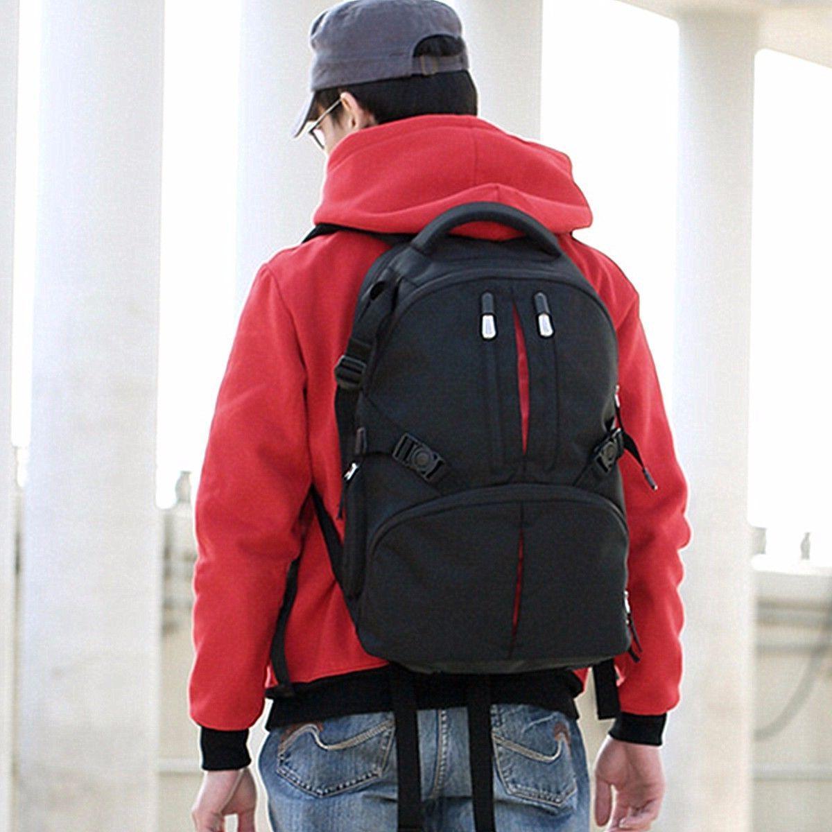 Waterproof SLR DSLR Camera Laptop Bag Backpack Rucksack