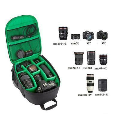 SLR DSLR Bag Shockproof Rucksack For Nikon-Canon