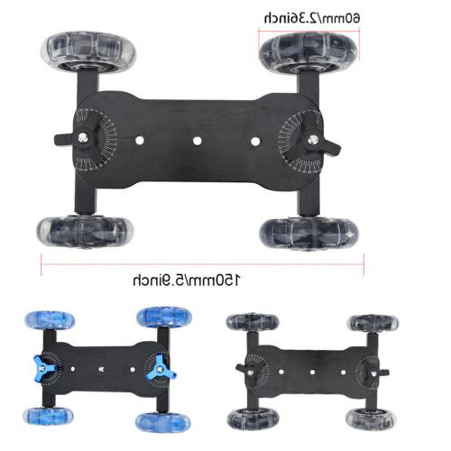 Wheels Video Camera Track Rolling Dolly