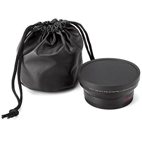 58mm Wide Telephoto Kit Canon Rebel T6 SL1 T5 T5i T3 T3i T1i XSI XS XTI 7D 80D 70D 60D 60Da 20D