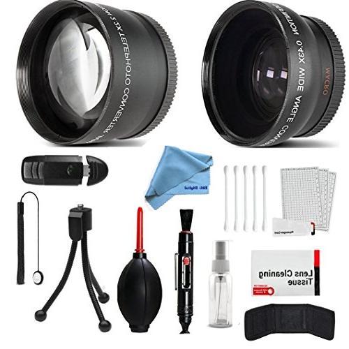 wide angle telephoto conversion lens