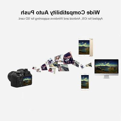 Wireless CF Adapter Type I Converter Reader for SLR Camera H0H7