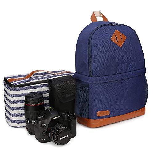 women canvas slr dslr backpack
