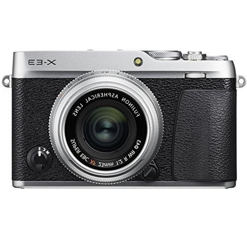 Fujifilm Mirrorless Camera w/XF23mm WR Lens Case, & Software