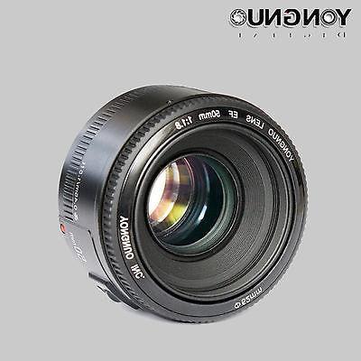 YONGNUO YN 50mm f/1.8 AF Lens Aperture Auto EOS DSLR