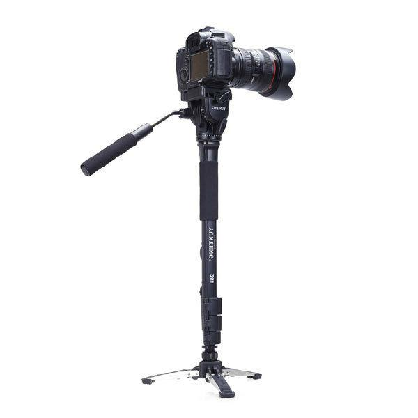 Yunteng Stand+Fluid Fr DSLR Camera