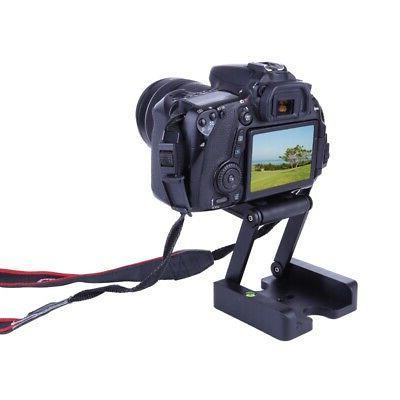 Z-Type SLR DSLR Camera Folding Tripod Flex Pan Quick Release