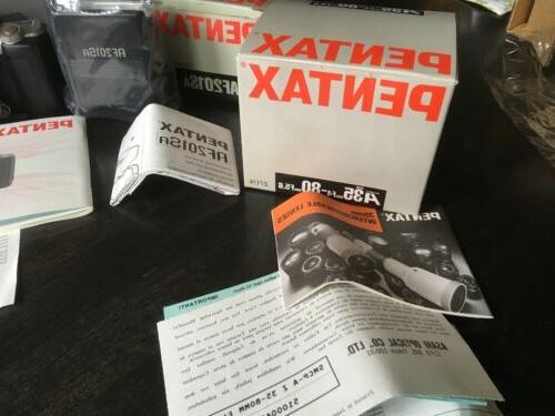 Pentax 35mm SLR Camera Pentax Lens & Box!!!