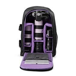 G-raphy Camera Backpack Waterproof DSLR/SLR Cameras , 17'' L