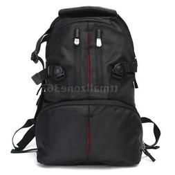 LARGE DSLR SLR CAMERA BACKPACK CAMERA BAG FOR PHOTO PHOTOGRA
